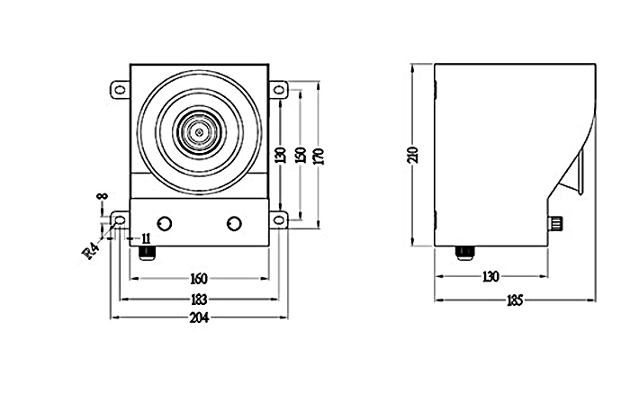 BC-05D大分贝声音报警器产品内芯采用先进的专用集成电路设计具有抗干扰能力强,工作稳定等特点;外型利用喷塑钢板材料,语音报警器采用先进的工艺制作而成,结构设计新颖、美观、大方;同时本系列产品还具有重量轻、防水、抗强震、安装方便等优点。产品系列型号齐全,用户可根据自身使用场合及要求选择音调及语音报警方式。该型号适用于噪杂的工业现场或较空旷的矿上等场所。适用于起重机械、门吊、桥吊、行车以及冶金、矿山大型的安全警报装置。用户可根据自身使用场合及要求选择电压,音调及语音报警方式等。 特殊定制语音内容选择项(单选